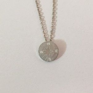 Jewelry - Beautiful Sterling Silver Compass Necklace